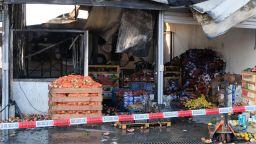Пожарът на борсата в Кърналово вероятно е тръгнал от работа с оксижен