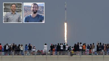 Двама българи в екипа на историческия полет на Space X