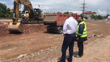 Борисов: Строителството на Южната дъга на София върви на много високи обороти