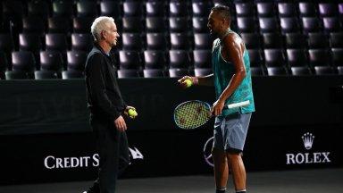 Джон Макенроу за Кирьос: Той е сред петте най-талантливи в тениса, но няма дух на шампион