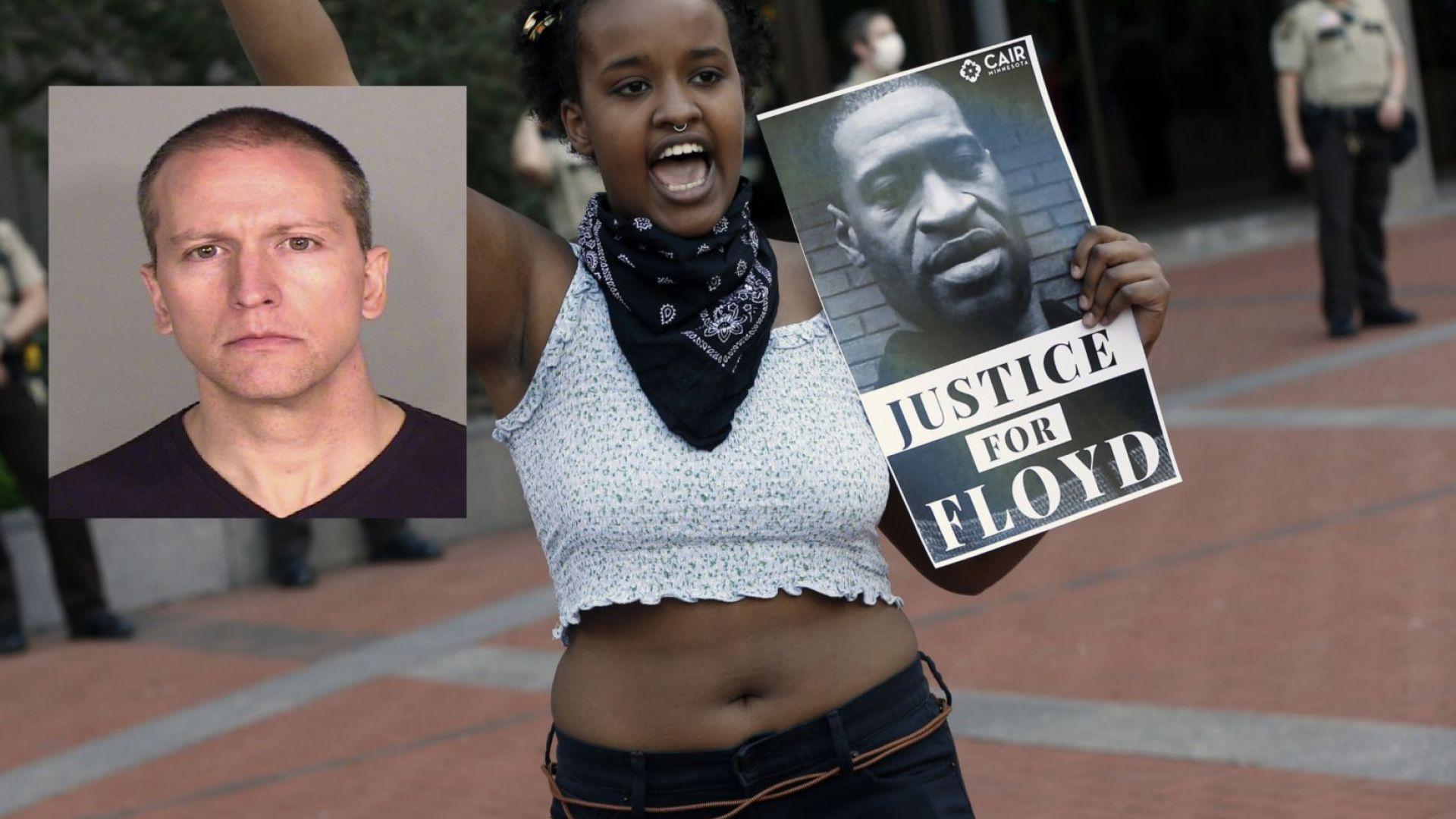 Обвиненията, повдигнати срещу полицая Дерек Човин по делото за афроамериканеца