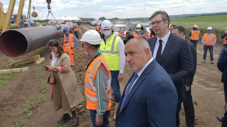Премиерът Бойко Борисов изпрати картина на сръбския президент Александър Вучич