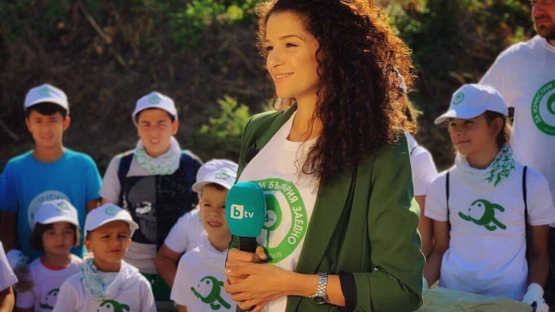 """bTV поде кампанията """"Да изчистим България"""""""