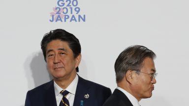 Враждата между Токио и Сеул ескалира
