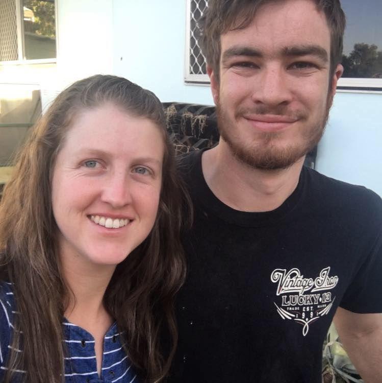 Джорджия и съпругът ѝ Тоби - стопани на Пи-Пус