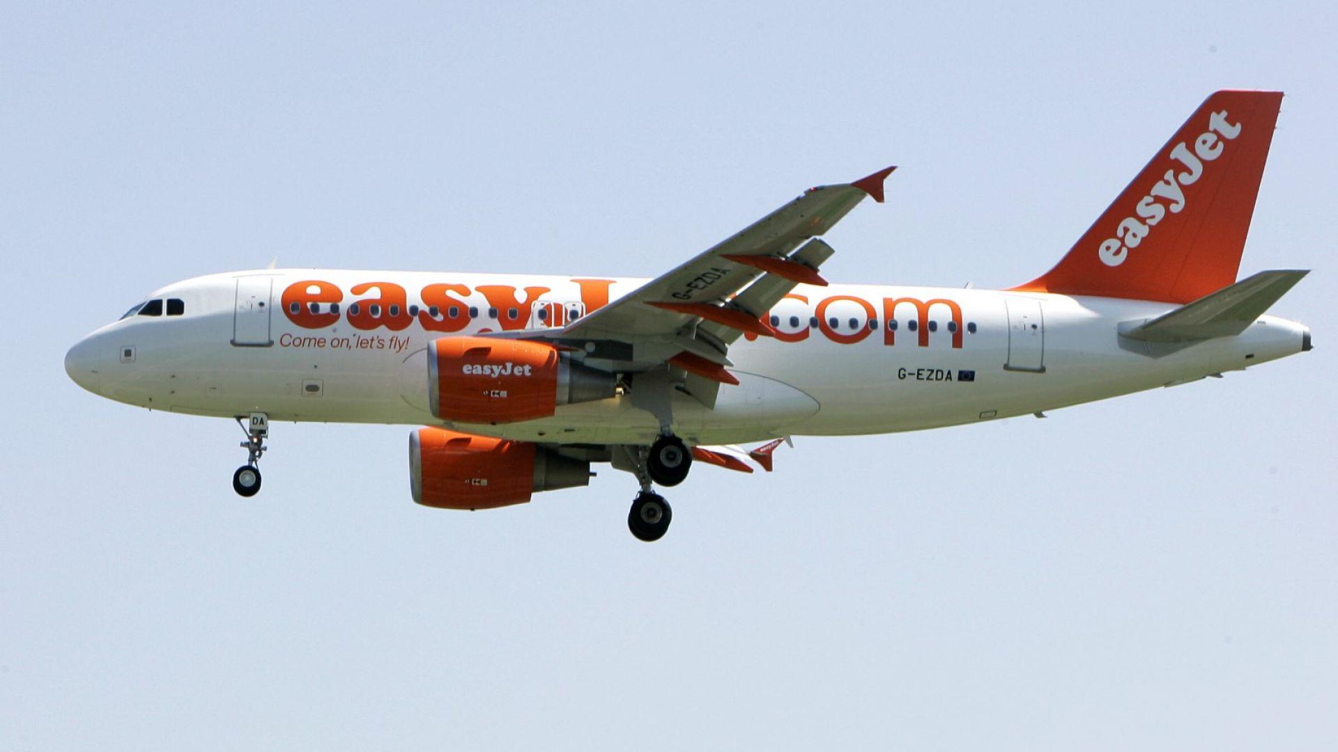 EasyJet рестартира 75% от полетите си до края август