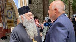 Борисов в Рилския манастир: Отпускаме му пари и ще ремонтираме свлачище (видео)