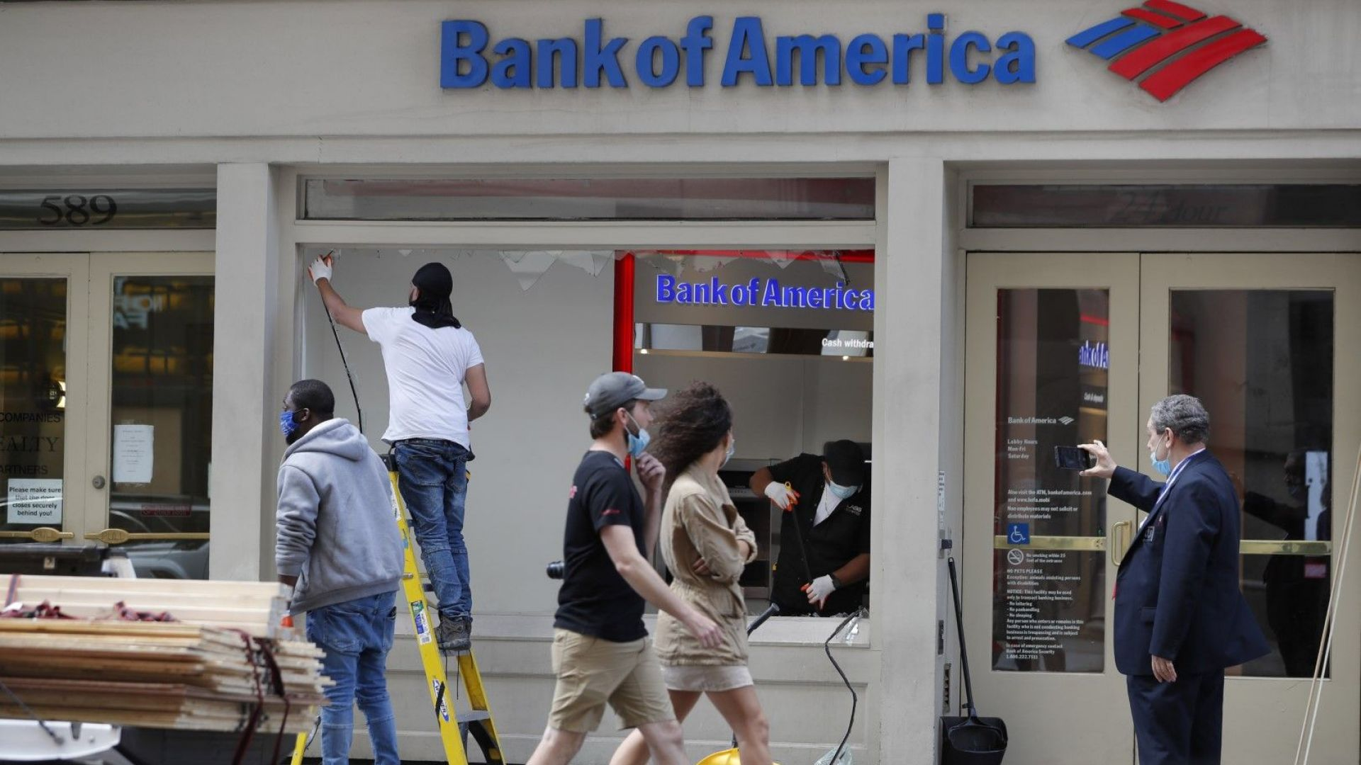 Банк ъв Америка обеща $1 млрд. в борбата срещу икономическото и расово неравенство