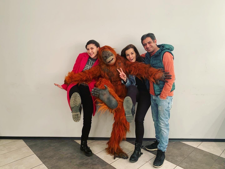 Забавната маймуна с климатроник с Алекс,  Елица Варадинова и Людмил Николов