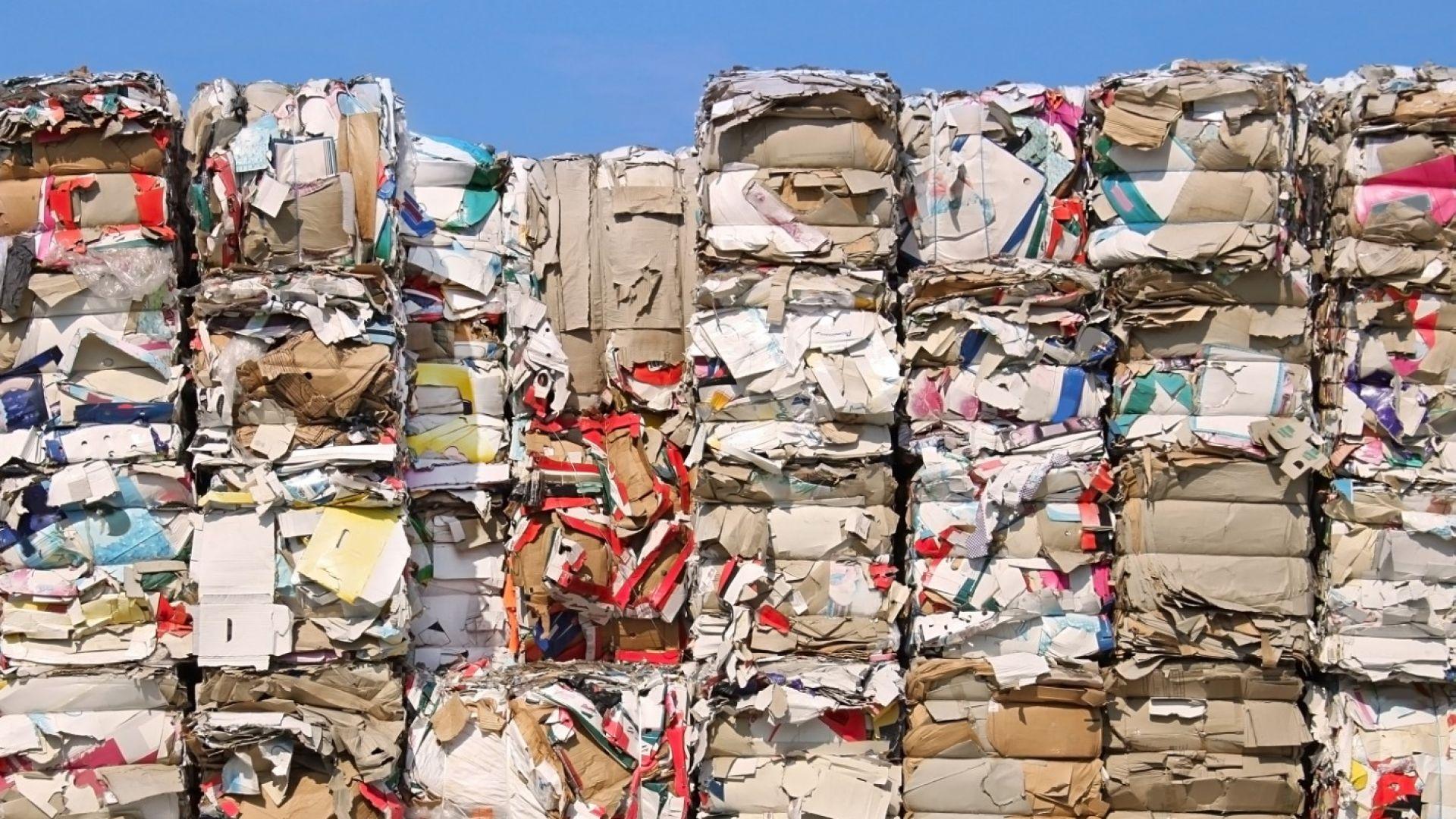 Къде да вложим отпадъците: Текстилът - в мебели и в гипсокартон, стъклото - в тротоар
