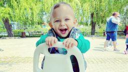 Антония Петрова показа две от първите неща в живота на сина си