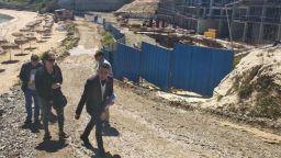 """На """"Алепу"""" се строяла подпорна стена, а не 4-етажен хотел"""
