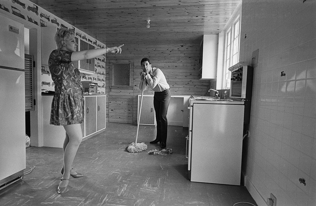 Том Джоунс и съпругата му Мелинда