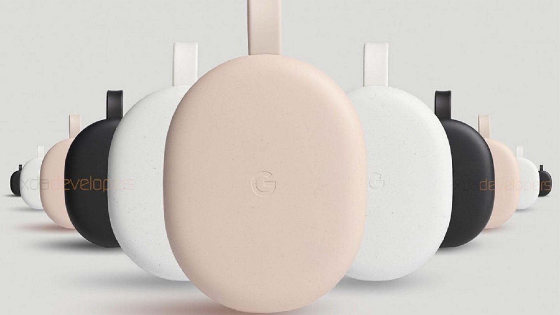 Снимки на новото устройство с Android TV на Google