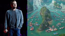 Видео на Леонардо ди Каприо за райско място, замърсено с пластмаса, стана световен хит