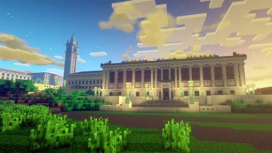 В играта Minecraft се появи цял университетски кампус