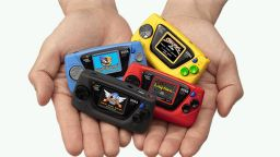Sega представи микро гейм конзола