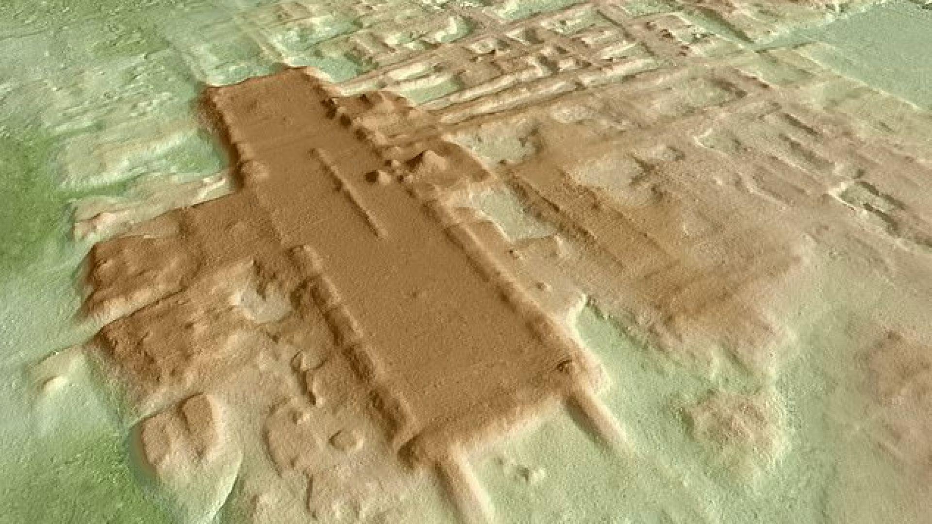 Археолозите са използвали радар, за да открият церемониалния комплекс