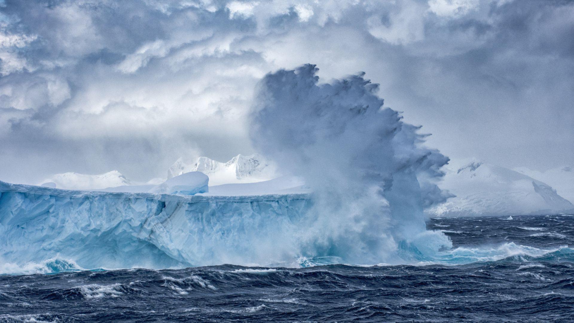 Въздухът над Южния океан - най-чистият на Земята