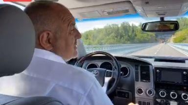 Борисов открива обходния път на Габрово: Въпреки COVID-19, строим ударно (видео)
