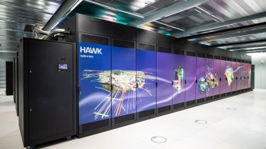 Виртуална обиколка разкрива отвътре суперкомпютъра Hawk