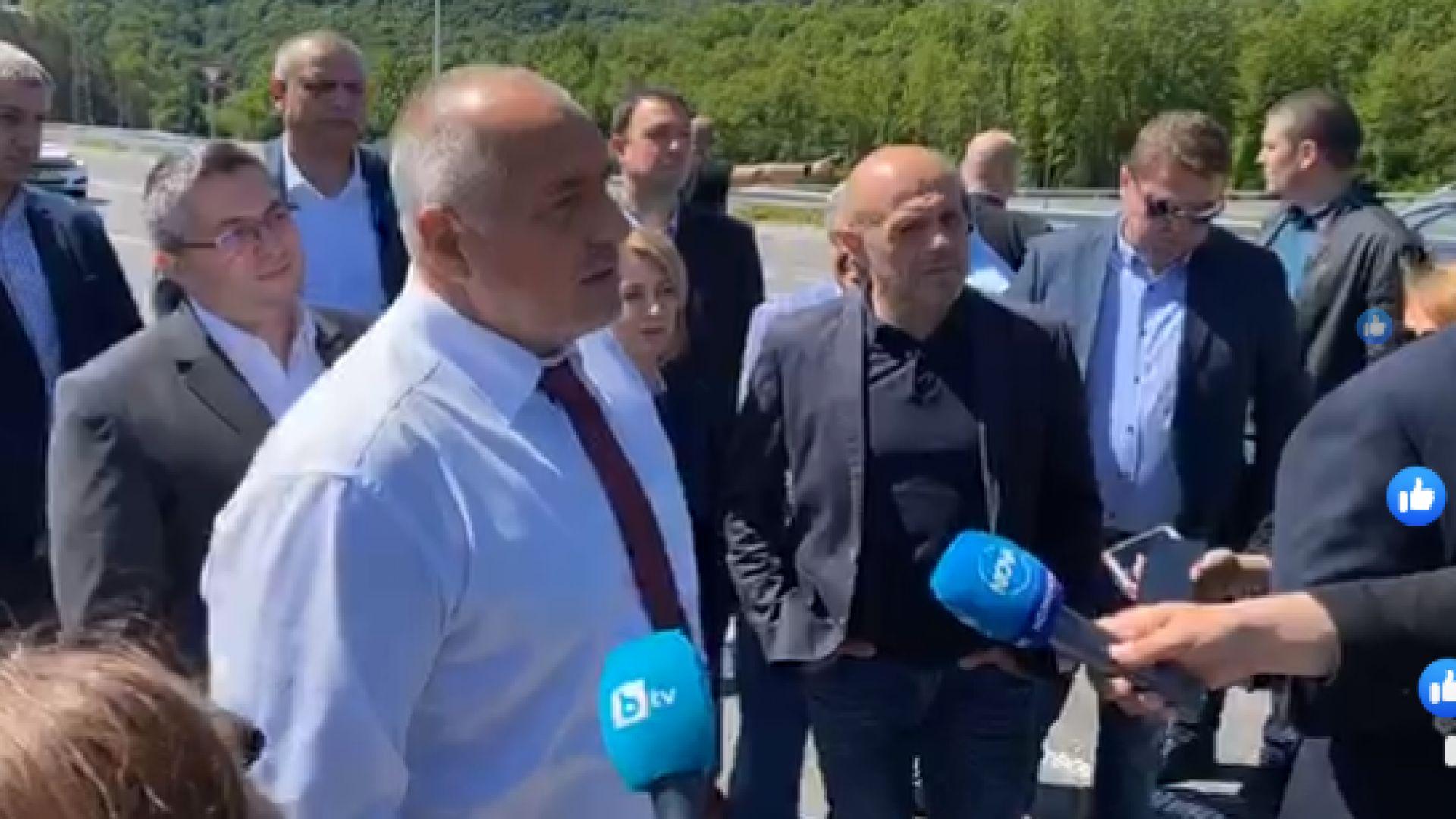 Борисов откри обходния път на Габрово: Въпреки COVID-19, строим ударно (видео)