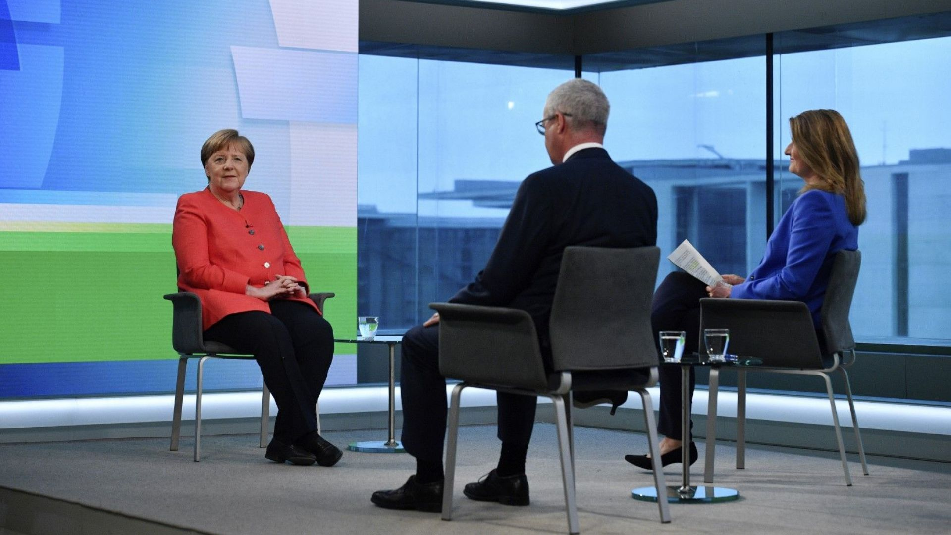 Германската канцлерка Ангела Меркел, чийто мандат изтича догодина, увери днес,