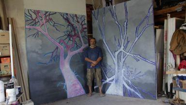Срутеното битие през погледа на един художник
