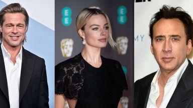 Никълъс Кейдж, Брад Пит и Марго Роби най-желани в Холивуд за последните 5 години