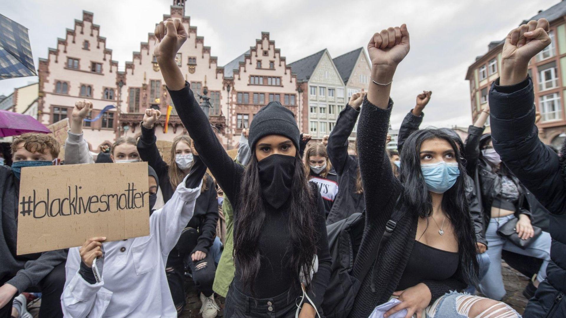 Протестни демонстрации имаше отново днес в много страни, въпреки предупрежденията