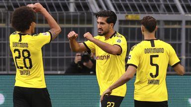 Дортмунд не впечатли, но намери пътя към победен гол