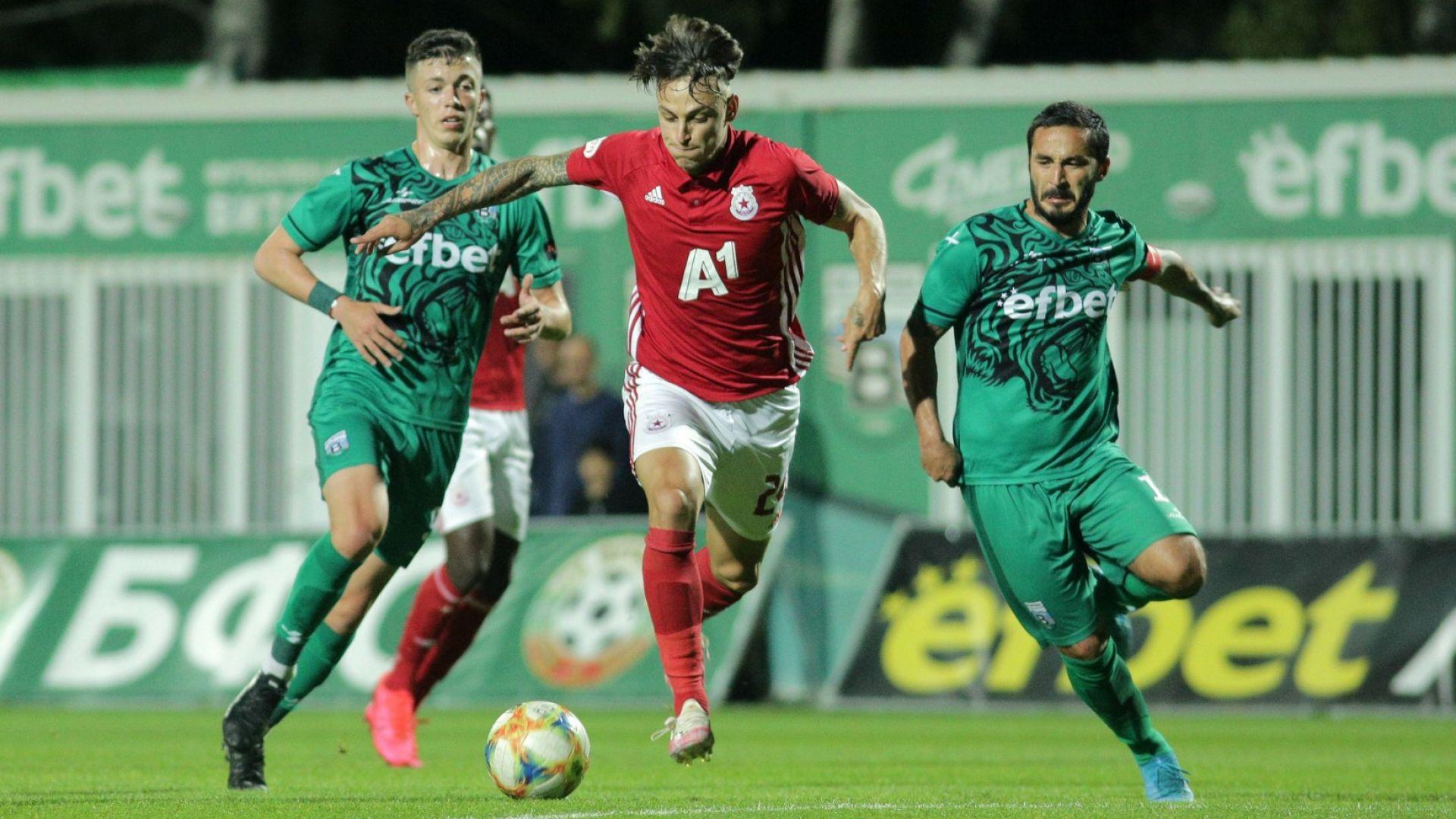 ЦСКА отново се мъчи в Бистрица, но се спаси в края