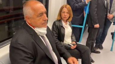 Борисов провери третия лъч на метрото: Фантастично, като подземен град! Тръгва през август (видео)