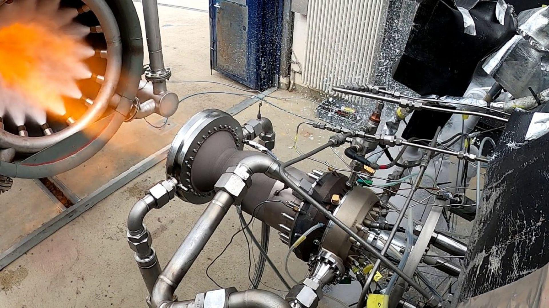 Европа също разработва ракетен двигател на метан