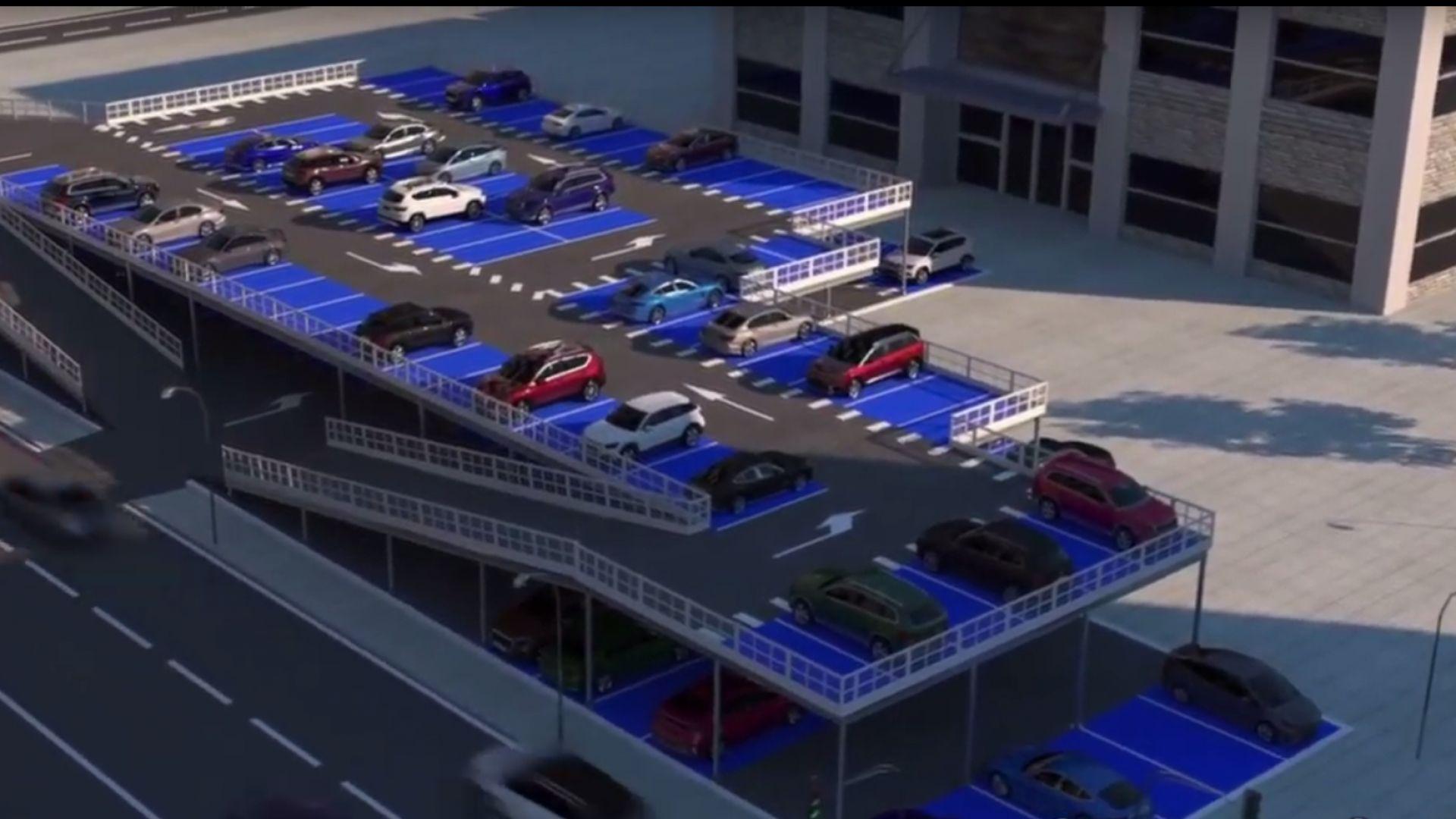 Предлагат 10 монтажни паркинга в столичните квартали (видео)
