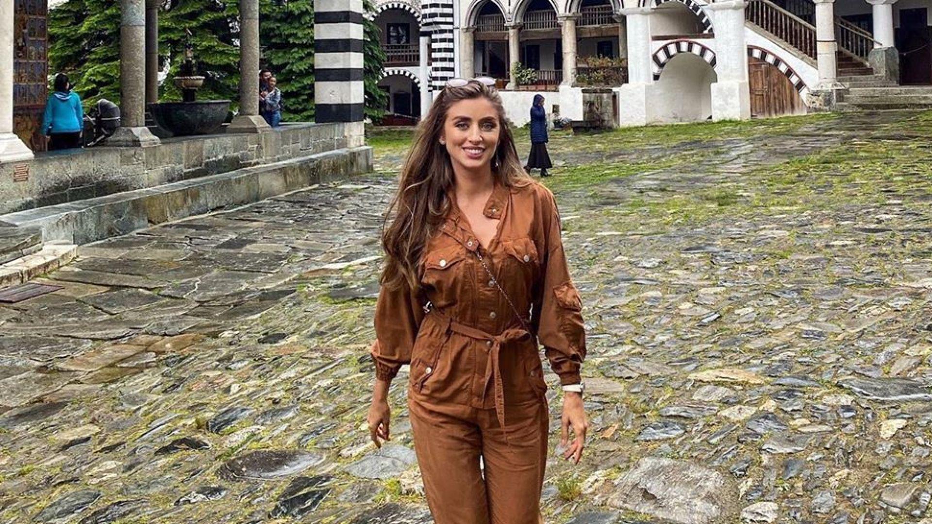 Саня Борисова в Рилския манастир: Отново съм щастлива