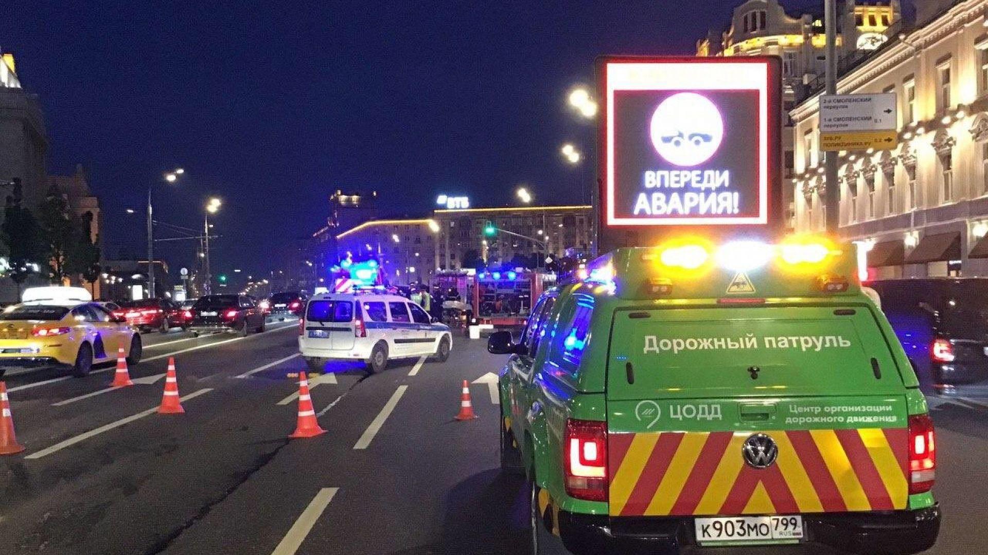 Известният руски актьор Михаил Ефремов катастрофира пиян, а при инцидента
