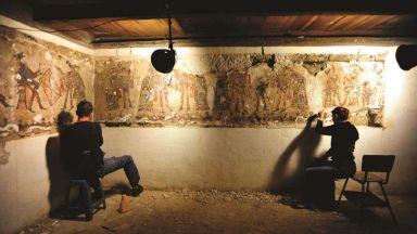 Откриха едни от най-запазените стенописи на маите