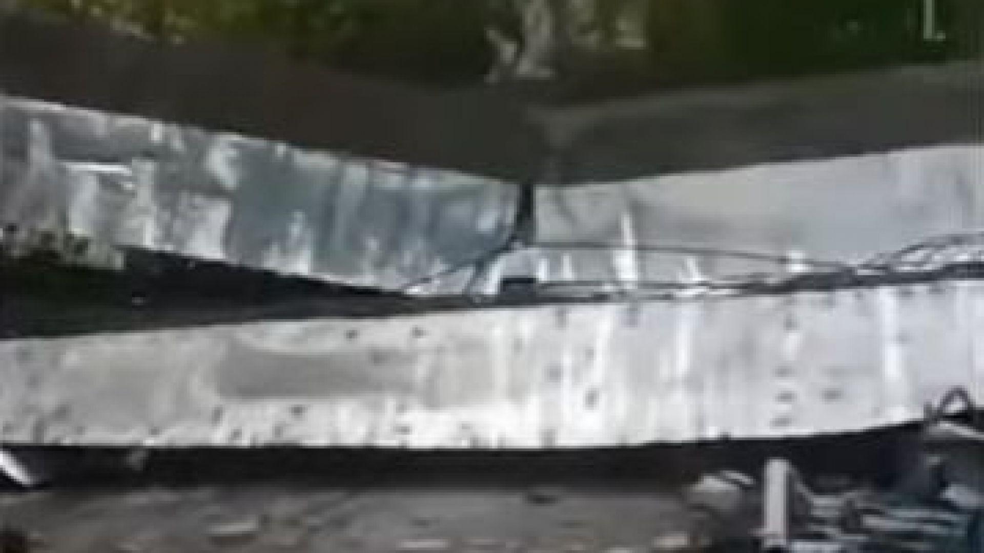 Огромен кран рухна в китайския град Ухан, а при инцидента