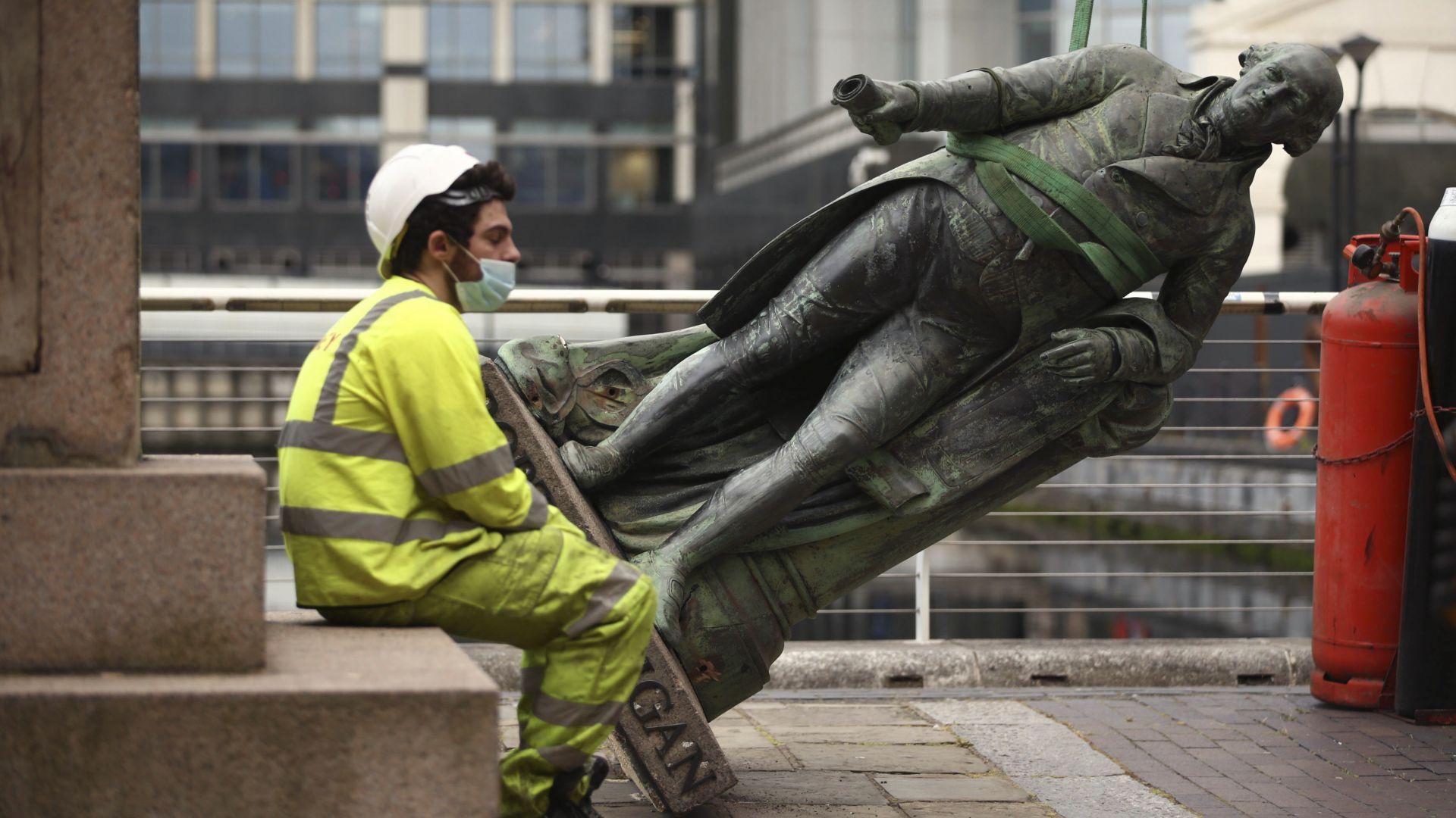 Демонтират паметници, свързвани с робството във Великобритания