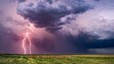 Започва период на нестабилно време, с превалявания и гръмотевични бури