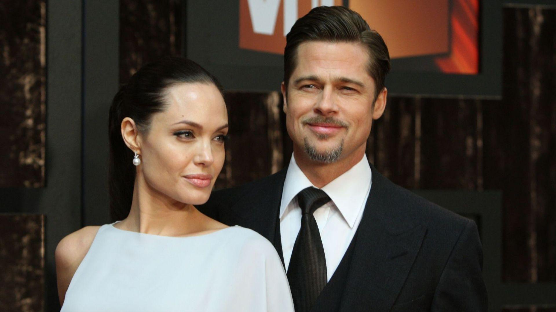 Брад Пит и Анджелина Джоли отново в съда заради попечителството над децата им