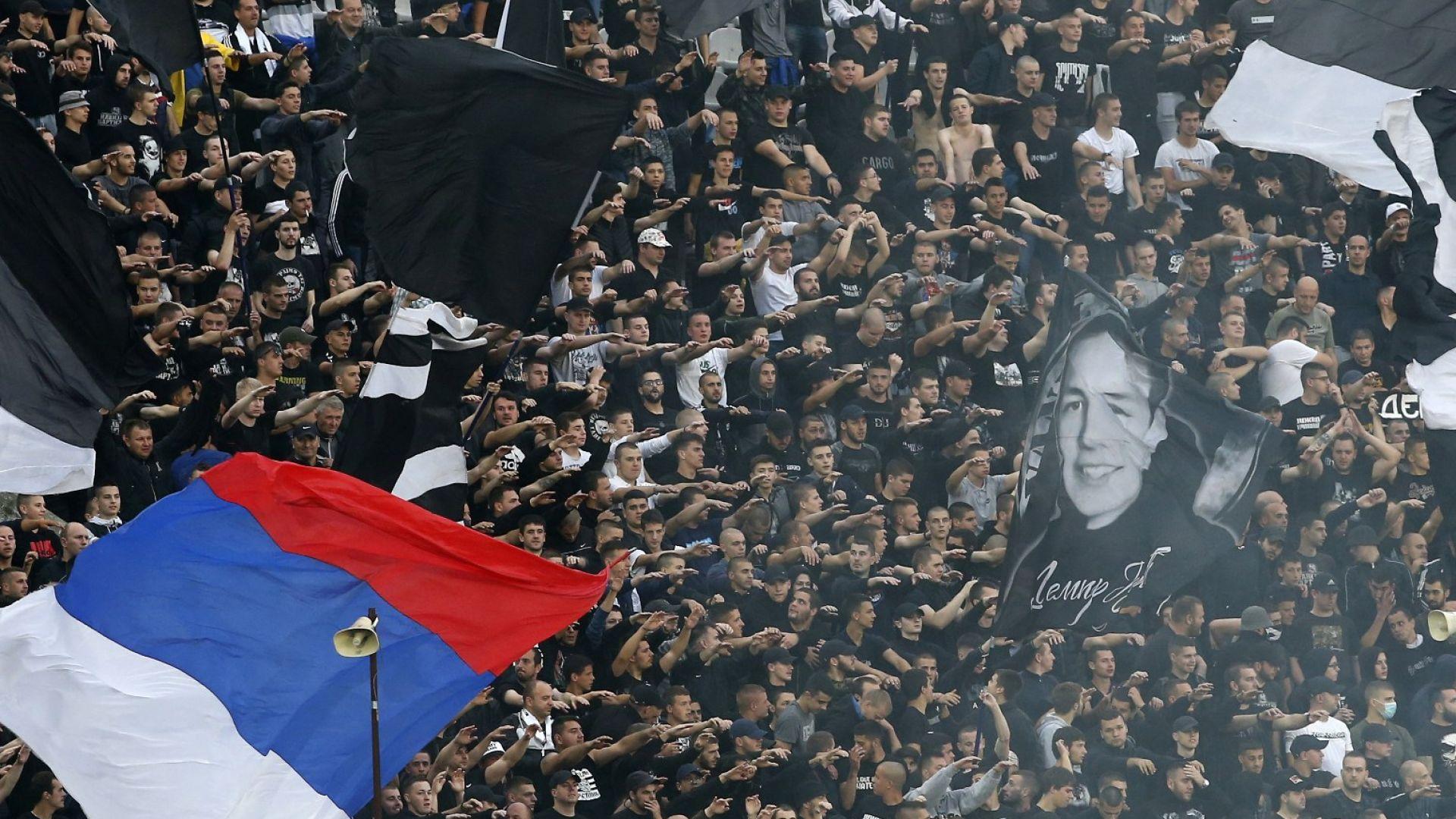 Пълни трибуни и супер атмосфера в Белград припомниха позабравено чувство