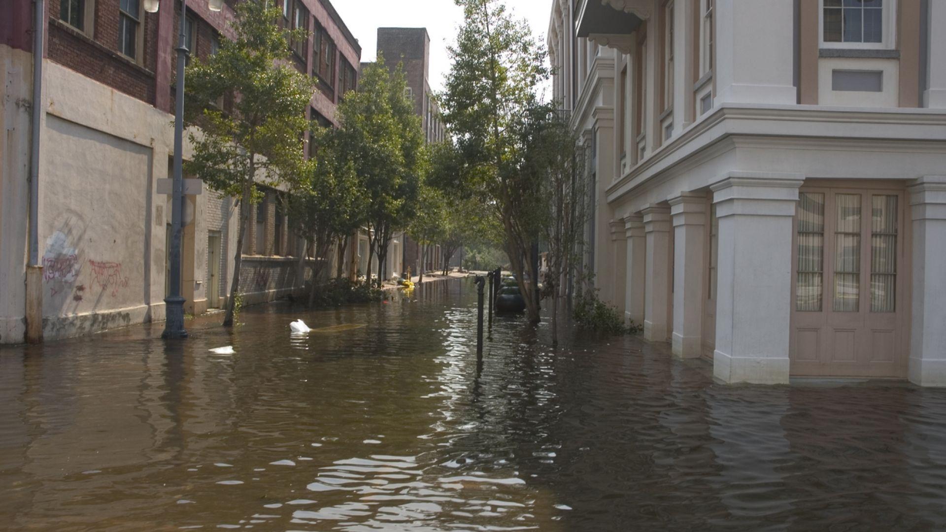Ню Орлеан отново под вода