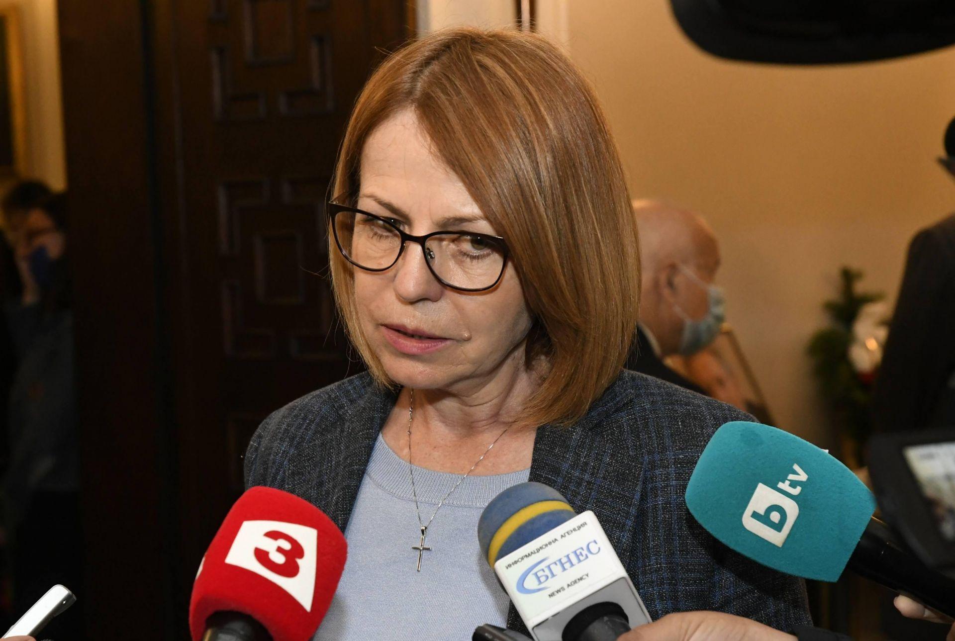 Йорданка Фандъкова на поклонението на акад. Воденичаров