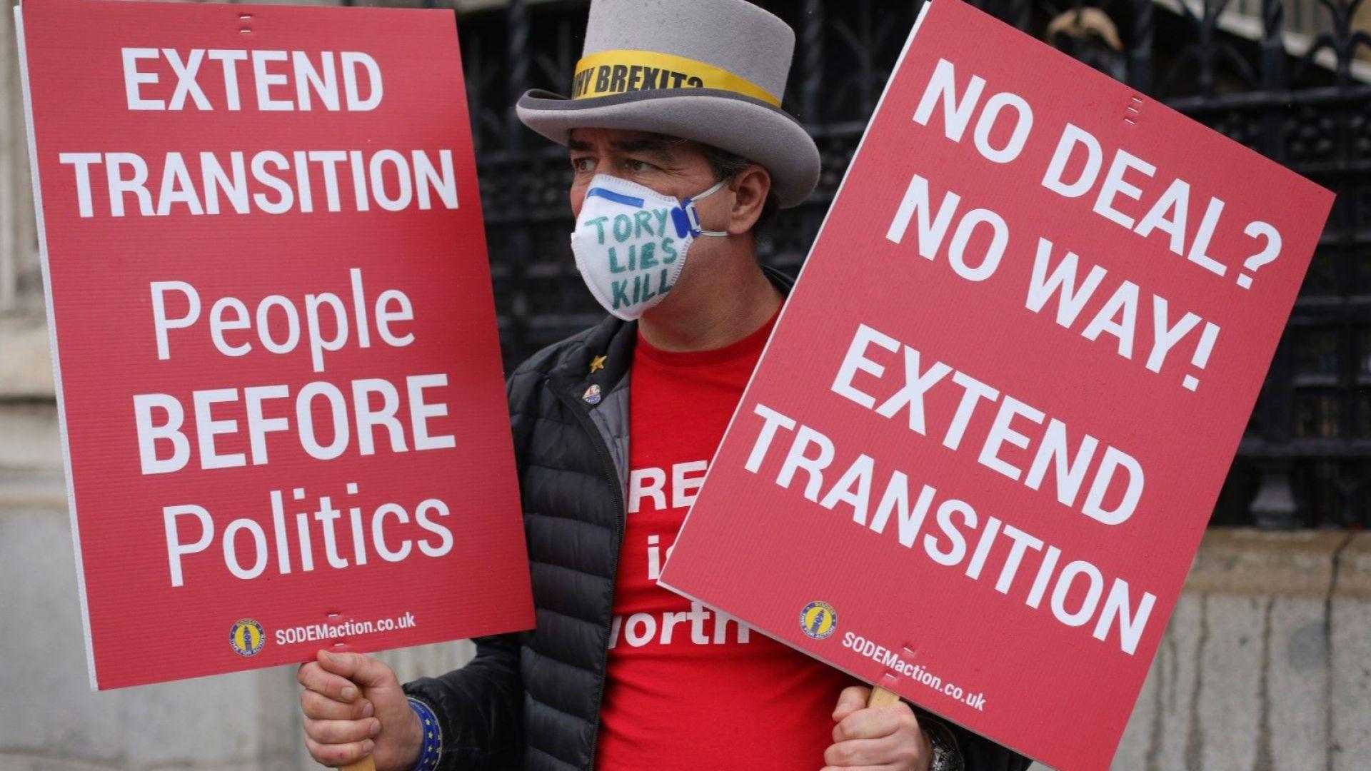 Пандемията отказа Лондон от пълния граничен контрол с ЕС от януари