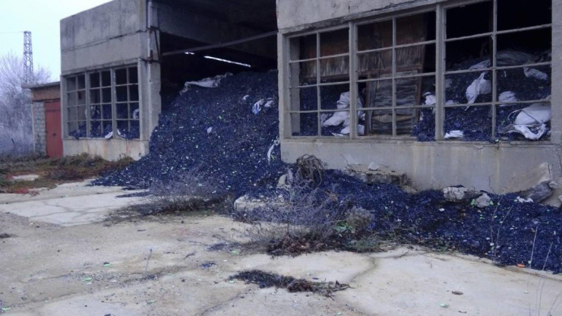 Отнеха разрешителното за дейности с отпадъци на фирма в Лом