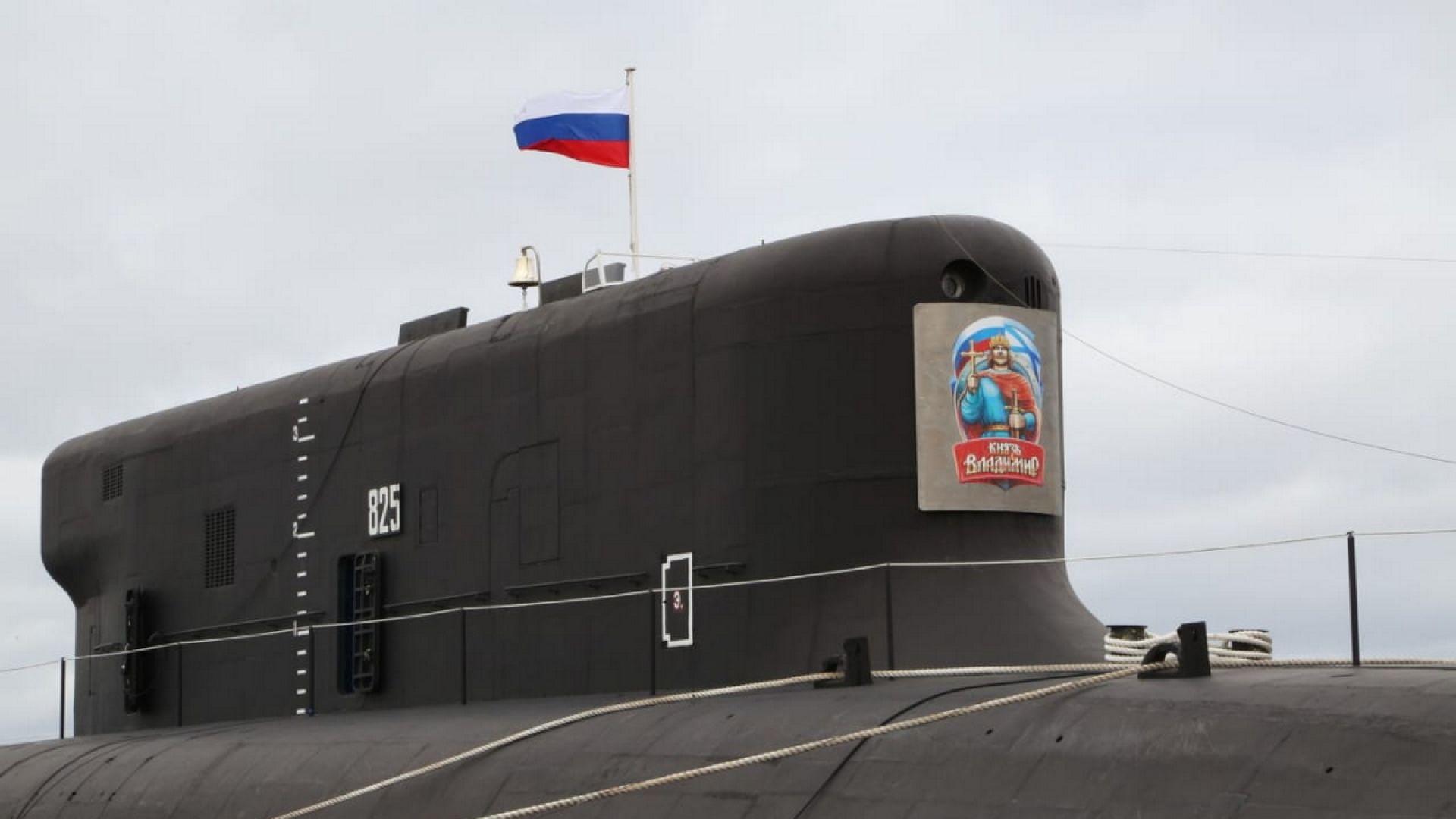 В деня на Русия: Кремъл прие на въоръжение най-новата си ядрена подводница (снимки)