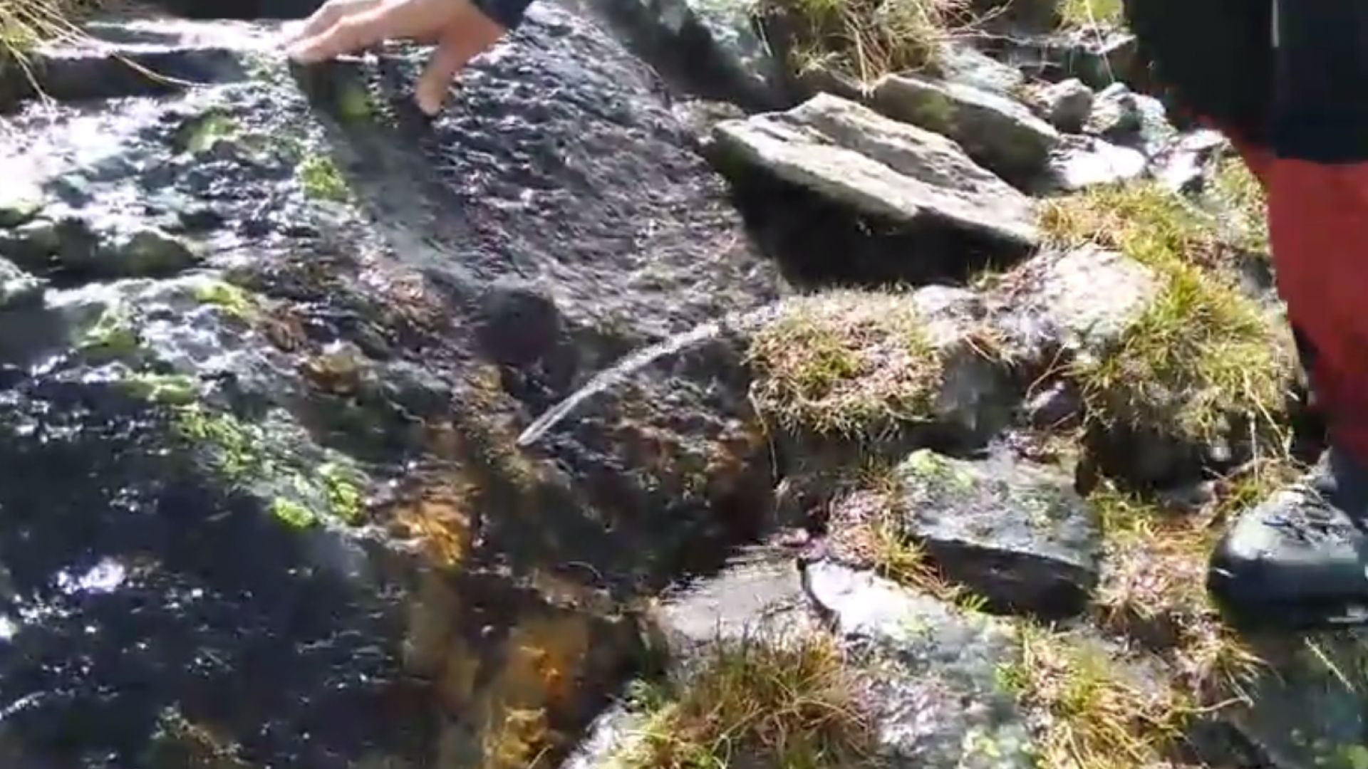 На изключително рядък природен феномен се натъкнаха планински спасители от