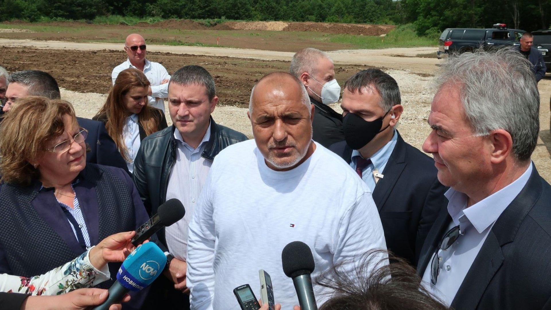 """Борисов: Магистрала """"Хемус"""" ще е  напълно готова през 2024 г., записът е фалшив, забавлявам се"""